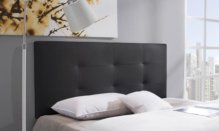 cabecero de cama tapizado groupon