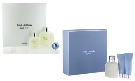Dolce & Gabbana Light Blue Pour Homme Men's Fragrance Gift Set (2- or 3-Piece) 10beafac-b1fc-47f1-a9ae-28dc90f035bb