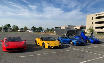 Up to 75% Off Exotic Car Experience at Velocity Driving