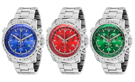 World Timer Men's Chronograph Watch