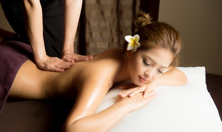 Massage Pamper Package for One $69 or Two People $138 at Thai Village Massage & Spa Wollongong Up to $300 Value