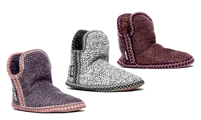 Men's MUK LUKS Knit Bootie ... Slippers cheap official cheap sale wiki outlet get to buy qZjUuUyWg