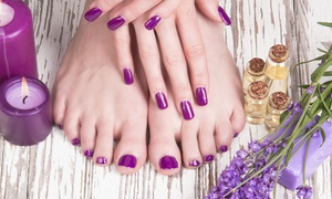 Tranquility Hair & Beauty Studio Ltd: Shellac Manicure, Pedicure or Both at Tranquility Hair & Beauty Studio (Up to 46% Off)