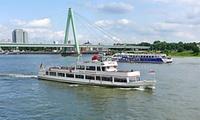 60 Minuten Rheinrundfahrt inkl. Tourguide für 1 oder 2 Personen mit der Dampfschiffahrt Colonia (bis zu 41% sparen*)