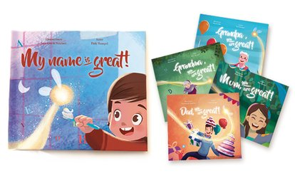 Up to Five Personalised Kids Storybooks from Story of My Name (Up to 68% Off)