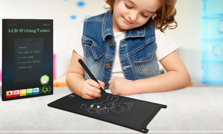 One or Two LCD Digital Writing/Drawing Tablets and E-Writers in Choice of Colour