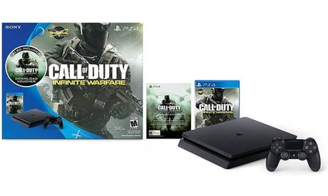 "PlayStation 4 500GB with ""Call of Duty: Infinite Warfare"" Bundle 2c74c6ba-44d7-44a7-8920-f9439f1ce650"