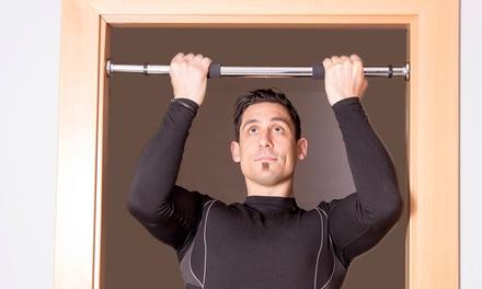 Barra de ejercicio para puerta Jocca extensible desde 62,5 hasta 100 cm