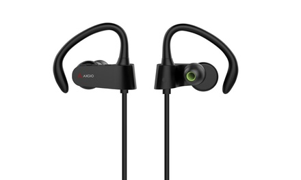 AXGIO Vigour 2 Bluetooth V4.1 Sports Wireless Earbuds with Mic for Smartphones/Tablet/PC: One $29 or Two $49