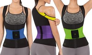 Women's Sweat Shaper Cincher with Waist Trainer Corset