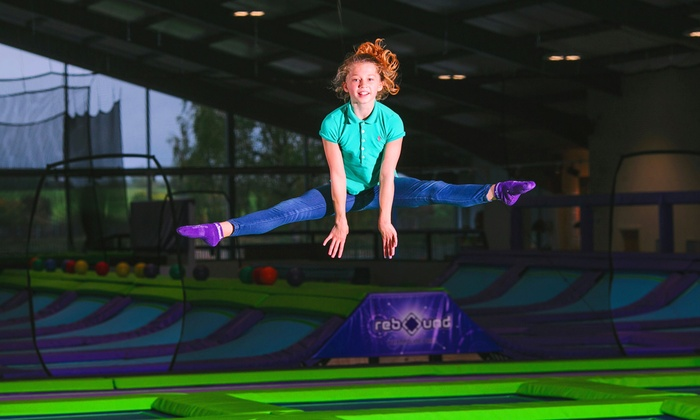 Rebound Ashby - Ashby-de-la-Zouch: One-Hour Jump Access for Up to Four at Rebound Ashby (25% Off)