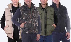 Maxxsel Men's Water-Resistant Tactical Vest