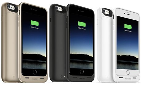 Mophie Battery Cases for iPhone 6/6+/6S/6S+ (Manufacturer Refurbished)!