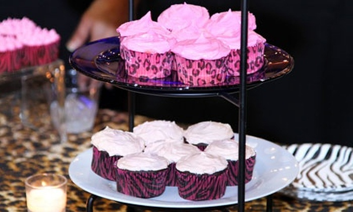 Bad Kat Kupkakes - Providence: Four Dozen Mini Cupcakes or Two Dozen Large Cupcakes at Bad Kat Kupkakes (Up to 52% Off)