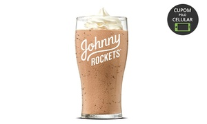 Johnny Rockets - Flamboyant Shopping Center: 1 milk-shake sabor ''Chocomaltine'' no Johnny Rockets - Flamboyant Shopping Center