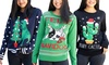 Women's Christmas Sweaters. Plus Sizes Available