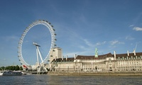 One Person Hop on Hop off TRS River Cruise and London Dining Card Ticket (Up to 23% Off)