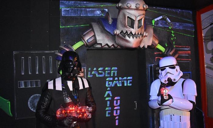 Laser Adventure Souvenir du passage de l'équipe de l