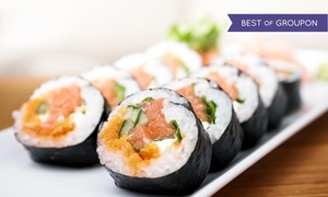 Kumo Sushi: Two Hours of All-You-Can-Eat Sushi with Choice of Three Drinks or Teriyaki at Kumo Sushi (Up to 41% Off)