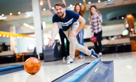Two Hours of Bowling and Shoe Rental for Two or Four Guests at Town Hall Lanes (Up to 67% Off)