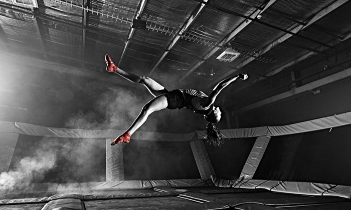 Sky Zone - Lutherville - Timonium: Two 60-, 90-, or 120-Minute Park Passes, or Birthday Party Package at Sky Zone (Up to 29% Off)