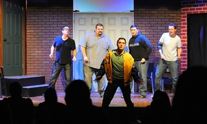 SAK Comedy Lab: Improv Comedy Show and Drinks for Two (March 26–June 25)