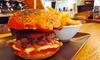 Parbleu Café - Chiari (BS): Cena di carne con antipasto, hamburger da 150 g a scelta, dolce e birra (sconto fino a 69%)