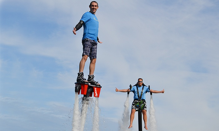 Blast Off Adventures - Clermont: 30-Minute Flyboard-Flight, 30-Minute Jetpack-Flight, or Both at Blast Off Adventures (Up to 60% Off)