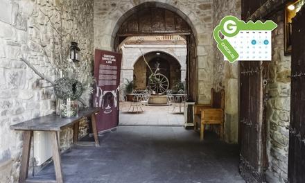 Balmaseda: habitación doble con desayuno buffet y late check out para dos personas en Hotel Convento San Roque