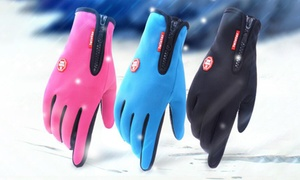 Gants waterproof coupe vent