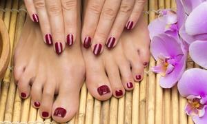 Nail Tonic Plus: Gel Manicure or Mani-Pedi at Nail Tonic Plus