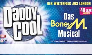 """Concertbüro Zahlmann: """"Daddy Cool"""" - Das Boney M. Musical am 08.02.2017 um 20 Uhr im Admiralspalast - Theater Berlin (40% sparen)"""