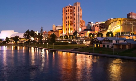 Adelaide: 1 or 2 Nights for Two People with Options for Buffet Breakfast and Late Check-Out at Sage Hotel Adelaide