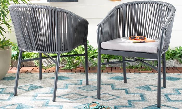 Tremendous Safavieh Outdoor Rope Chairs 2 Pack Groupon Download Free Architecture Designs Ferenbritishbridgeorg