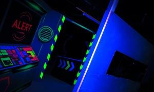 LaserSky Bremen: 3x 15 Min. Laser Tag-Spiel inkl. Tagger  für 1, 2, 4, 6 oder 8 Personen bei LaserSky Bremen (bis zu 46% sparen*)