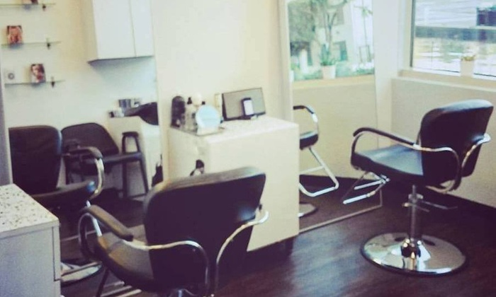 Coloring highlights amber gimbel with vanity hair salon for 901 salon prices