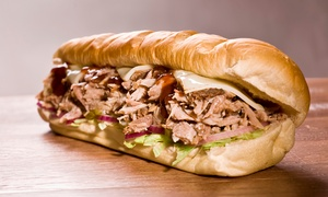 Shy's Subs & More: Sandwiches and Wings at Shy's Subs & More (Up to 50% Off). Two Options Available.
