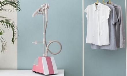 Fridja f1400 Professioneller mobiler Dampfglätter für Kleidung und Textilien in der Farbe nach Wahl