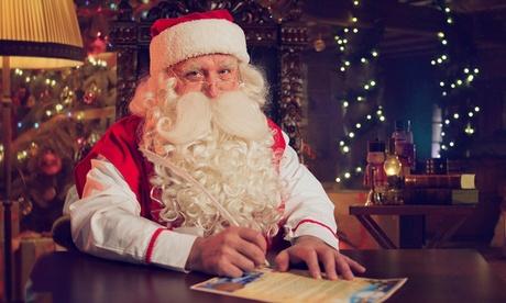 Vídeo personalizado Full HD de Papá Noel para adulto, niño o grupo de niños en Elfi (hasta 75% de descuento)