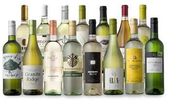 Up to 80% Off 15- or 18-Bottle Packs of Ultimate White Wines