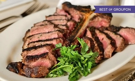 $35 for $60 Worth of Aged Steaks, Seafood, and Wine at Zagat-Rated Pace's Steak House