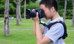 1 ou 2 sangles pour appareils photos Canon et Nikon