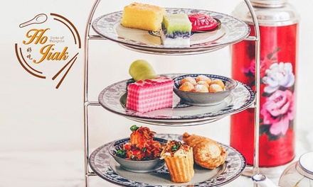High Tea: Coffee Pkg for 2 ($34), 4 ($68) or Bubbles Pkg for 2 ($48) or 4 People ($96) at Ho Jiak (Up to $160 Value)