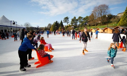 45-Minute Ice Skating Session for Up to Four at Icescape (Up to 42% Off)