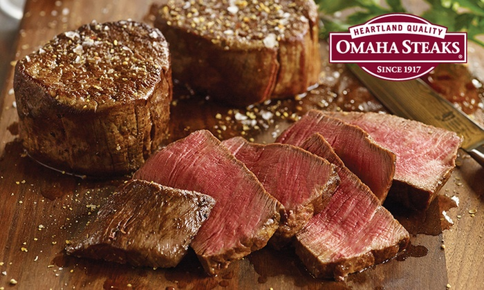 Omaha Steaks - Omaha Steaks: Valentine's Day Steak Dinners from Omaha Steaks Stores (Up to 71% Off)