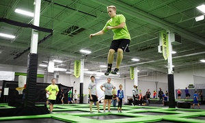 Up to 46% Off at Zero Gravity Trampoline Park at Zero Gravity Trampoline Park, plus 9.0% Cash Back from Ebates.