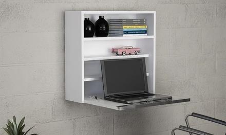 Scaffale con scrivania disponibile in 2 modelli