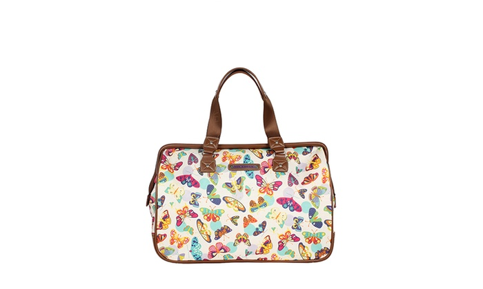 Up To 79 Off On Lily Bloom Satchel Luggage Set Groupon Goods