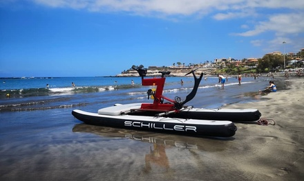 Alquiler de 60 minutos de 1 o 2 bicicletas acuáticas para 1 o 2 personas en Waterbike (hasta 65% de descuento)