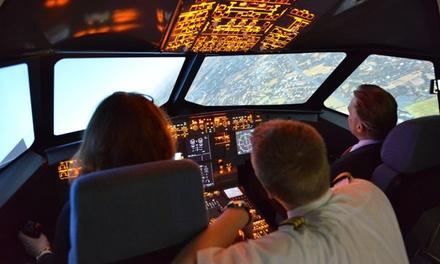 30 oder 60 Min. Flugzeit inkl. Flugplanungsunterlagen bei Aerotask Flugsimulator Essen/Mühlheim (bis zu 52% sparen*)